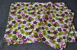 4 podkładki pod talerze - wiosenne kwiatki