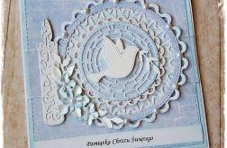 Chrzest Święty - Gołębica (niebieska)