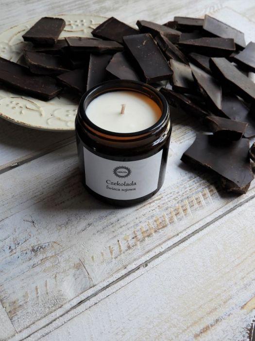 Zapachowa świeca sojowa CZEKOLADA
