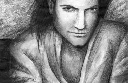 Portret - oryginalny rysunek 0002