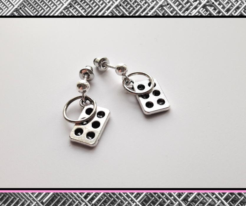 Kolczyki z serii StaLove - domino