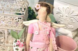 Lalka tilda-różana ogrodniczka