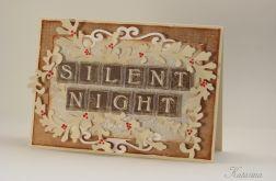 Świąteczna kartka - Silent Night
