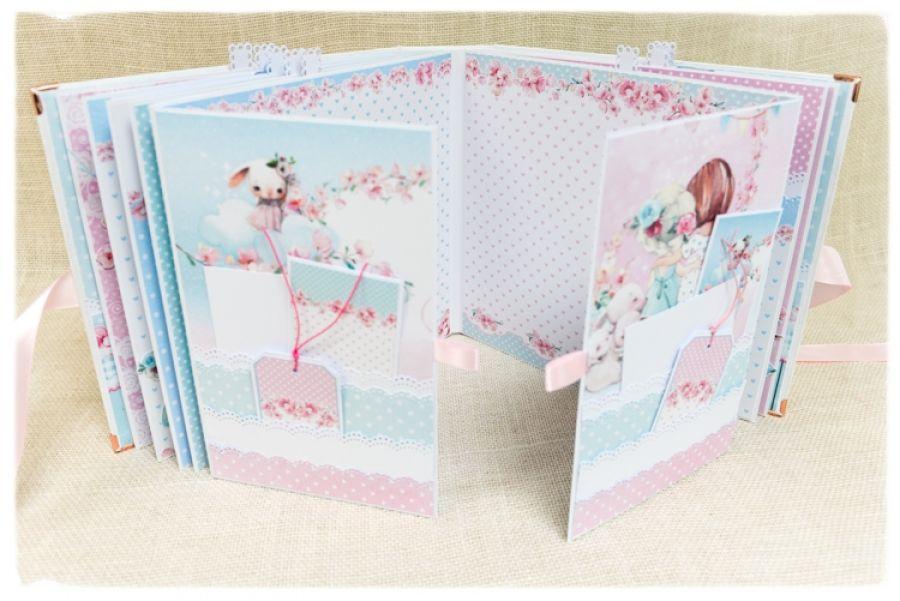 Album Scrapbooking ~Świat Małej dziewczynki~ -