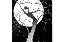 Drzewo - plakat A3
