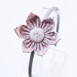 Opaska do włosów z kwiatkiem 1028