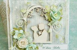 Ślubna w kolorze mięty