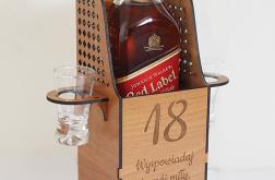 Konfesjonał pudełko na alkohol skrzynka TEKST