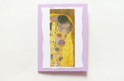 Kartka okolicznościowa Klimt Pocałunek nr 4