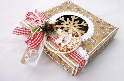 Piernikowe duże pudełko na prezent