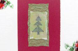 Kartka  świąteczna minimalizm 74