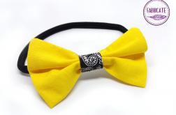 Opaska z kokardą żółta - Fabricate