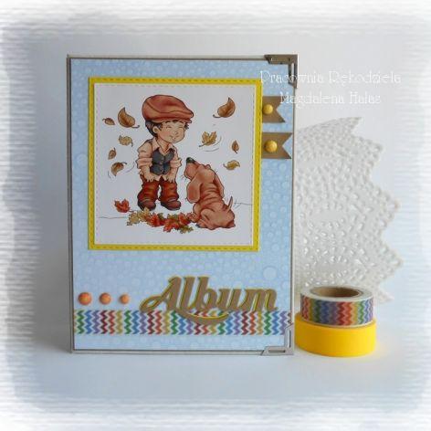 Album kieszeniowy z pieskiem
