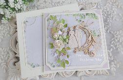 Ślubna kartka w pudełku 394