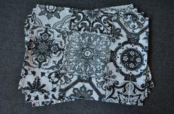 Podkładki pod talerze  Czarno-białe mozaiki 4 szt.
