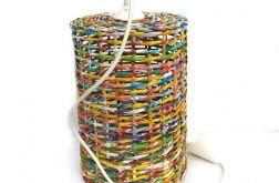 Kolorowa lampa tuba