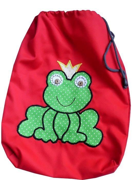 Zaczarowana żabka -worek dla przedszkolaka