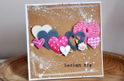 Walentynka - sznur serc 3