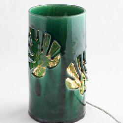 Lampa ceramiczna Monstera led