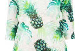 Letni sweterek ananasy