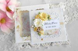 Ślubna kartka w pudełku 144