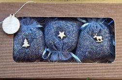 Świąteczne woreczki lawendowe do szafy