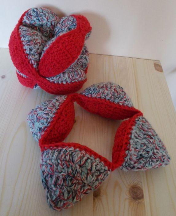 Crochet puzzle ball - Crochet puzzle baby