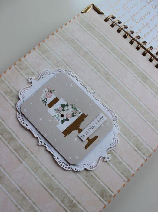 Księga Gości - Wedding Day - środek tort