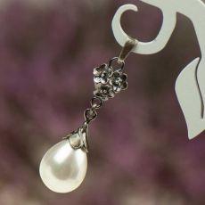 Wisior srebrny z perłami Seashell a796-w