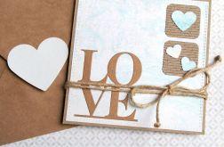 kartka ślubna lub miłosna :: love
