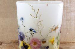 świece FLORA -z naturalnymi roślinami #6