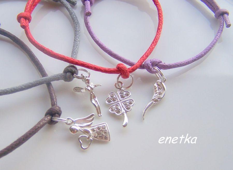 enetka -Bransoletka - ELFIK - 5 KOLORÓW