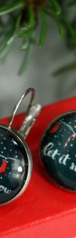 Kolczyki Świąteczne