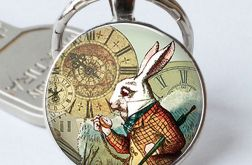 Brelok Alice in Wonderland White Rabbit