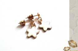 Kolczyki z serii Whitegold - Star