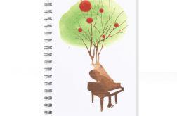 Zaczarowant Fortepian... notes a5