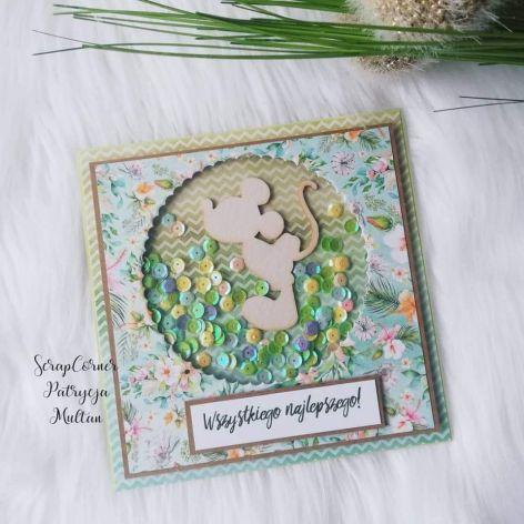 Kartka urodzinowa dla dziecka