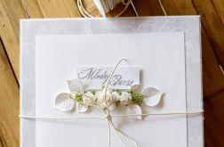 Komplet ślubny w bieli
