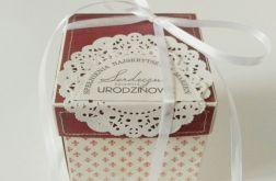 Pudełko exploding box na urodziny #01