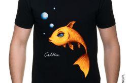 Złota rybka - t-shirt S-5XL (kolory).