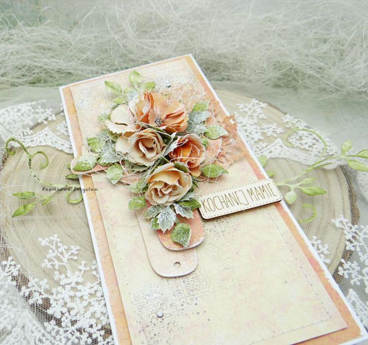Kochanej Mamie- kartka w pudełku 6 - prezent na Dzień Matki