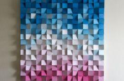 """Obraz drewniany 3D Mozaika drewniana """"Guma b"""""""