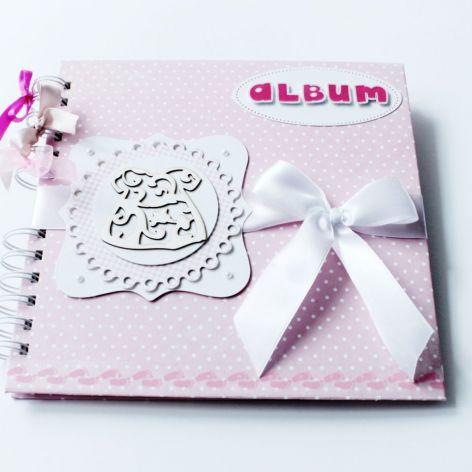 Album dla dziewczynki - różowy