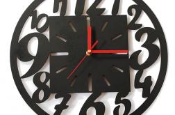 NOWOCZESNY zegar CZYTELNY ścianę wiszący