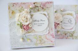 Kartka ślubna z personalizacją i pudełko S2