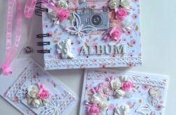 Album foto,kartka,etykietka,chrzest,komunia
