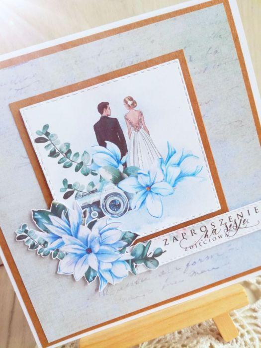 Zaproszenia na ślubną sesję fotograficzną