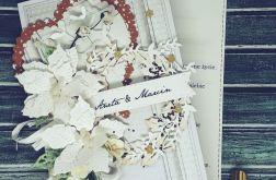 Karnet ślubny..zimowa aura