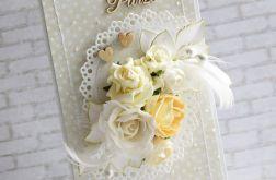 Beże i kremy ślubnie