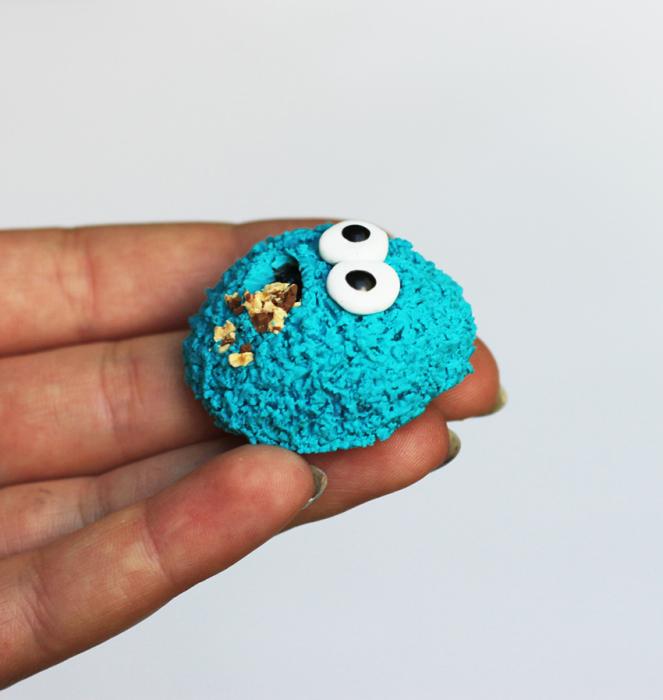 Magnes ciasteczkowy potwór modelina